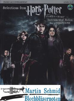 """Selections from """"Harry Potter And The Goblet of Fire"""" (Klavier Begleitung)"""