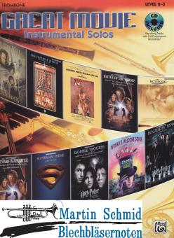 Great Movie Instrumental Solos (Solostimme + CD)