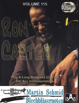 Volume 115: Ron Carter (Buch/2CD)
