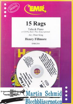 15 Rags (Piano or Play Back/Play Along optional)(Tuba in C)