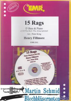 15 Rags (Piano or Play Back/Play Along optional)(Tuba in Eb)