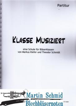 Klasse musiziert - Partitur