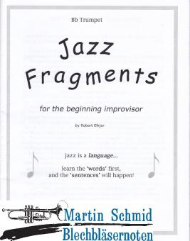 """""""Jazz Fragments""""  for TRUMPET"""