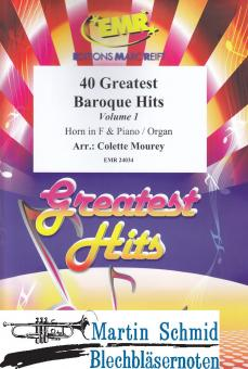 40 Greatest Baroque Hits - Vol.1 (Horn in F)
