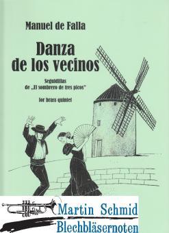 """Danta de los vecinos - Seguidillas de """"El sombrero de tres picos"""" (Neuheit Ensemble)"""