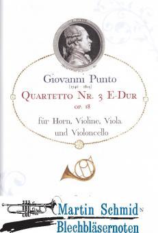 Quartetto Nr.3 E-Dur op.18 (Horn.Violine.Viola.Violoncello)