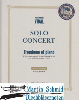 Solo de Concert (Neuheit Posaune)
