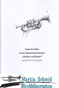 """""""Dichter und Bauer"""" Overtüre (4Trp) (Neuheit Trompete)"""