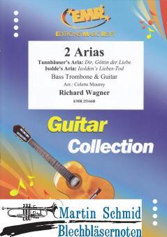 2 Arias (Bassposaune und Gitarre) (Neuheit Posaune)