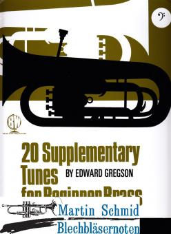 20 Supplementary Tunes for Beginners Brass