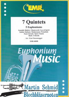 7 Quintettes (5Euph/Bar)
