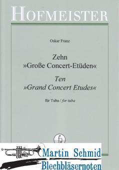 10 große Concert-Etüden