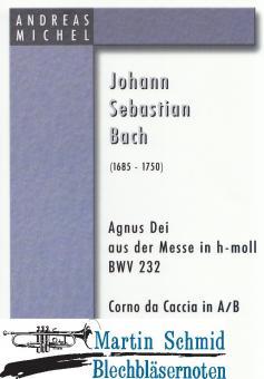 Agnus Dei aus der Messe in h-moll (Corno da Caccia in A/B oder Trompete in B)