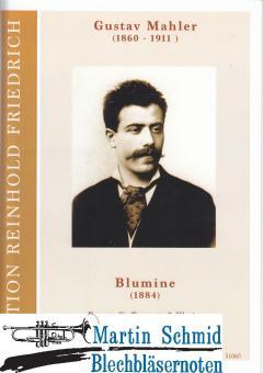 Blumine (Fassung für Trompete und Klavier zu zwei/vier Händen)(Neuheit Trompete)