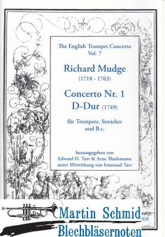 Concerto Nr.1 D-Dur (Edward Tarr Collection)