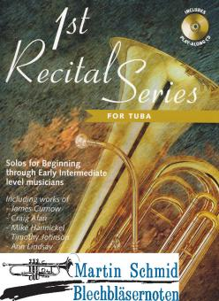 1st Recital Series (Tuba in C) (Solostimme + CD)