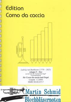 """Adagio F-Dur aus der """"Suite für mechanische Orgel"""" (Corno da caccia)"""