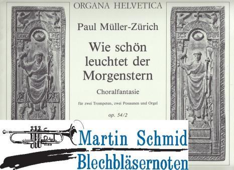 """Choralfantasie """"Wie schön leuchtet der Morgenstern"""" (Orgel)"""